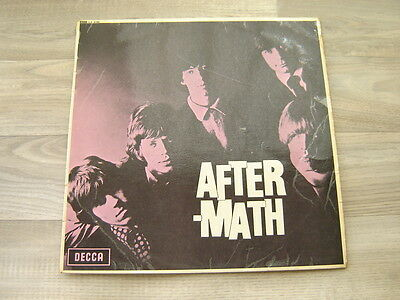 THE ROLLING STONES Aftermath LP *SLEEVE ONLY* 1966 1ST PRESS UK DECCA LK 4786