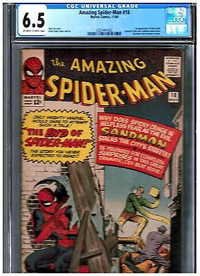 The Amazing Spider-Man #18 CGC 6.5 BLUE FIRST NED LEEDS HOBGOBLIN