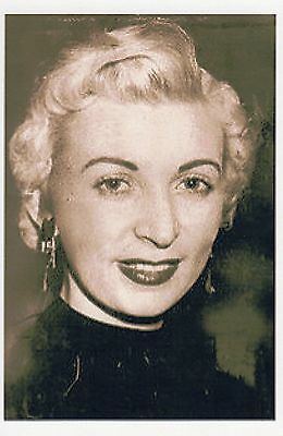 Photo Taken From A 1960's Image Of Ruth Ellis - Last Women To Be Hanged