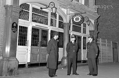 Photo Taken From 1966 Image Of Police At Blind Beggars Pub Whitechapel Rd