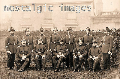 Photo Taken From A Victorian Image Of The Bristol Police