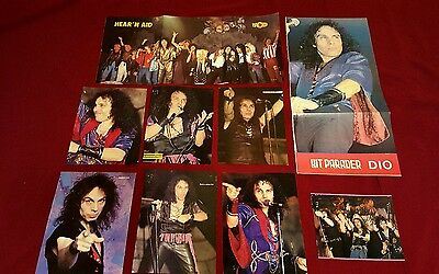 Ronnie James Dio Vintage Pinup Collection Lot