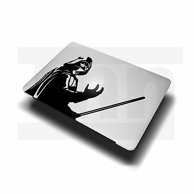 "Darth Vader Star Wars Apple MacBook sticker decal fits 11"" 13"" 15"" & 17"" models"