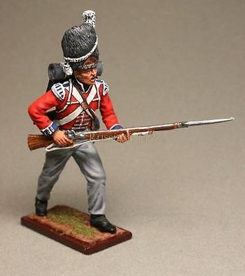 Tin Soldier, collector quality, soldier of English Grenadier Guards № 2, 54 mm