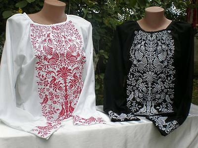 Ukrainian embroidery, embroidered blouse, any color, XS-4XL, Ukraine