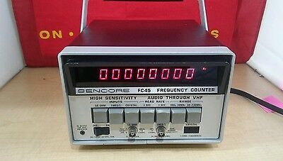 Sencore Fc45 Frequency Counter