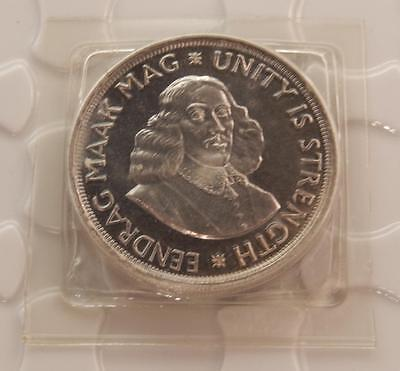 South Africa 1964 Silver 50 Cent BU Coin Mint Sealed! B007B