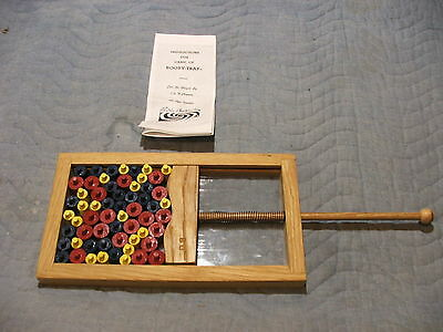 parker brothers booby trap reproduction hand crafted oak 60 peg pieces wavy tbar