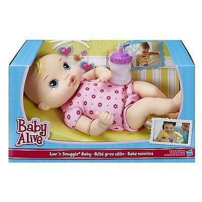 Baby Doll First Luv' and Snuggle Baby Alive Blonde dolly girl gift soft cuddly
