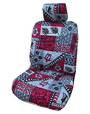 Terrific Red Sea Turtle Honu Hawaiian Car Seat Cover Set Of 2 Uwap Interior Chair Design Uwaporg