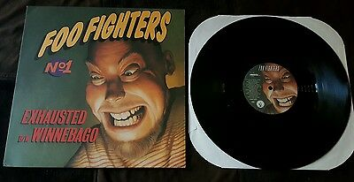 "Foo Fighters * Exhausted / Winnebago 12"" Vinyl Album 1995 Roswell Records Promo"