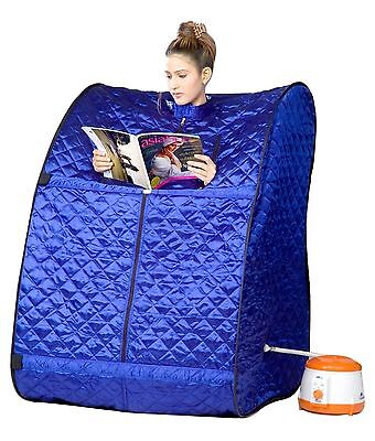 Portable Therapeutic Steam Sauna Bath Lose Weight - Fat - Pain Relieves