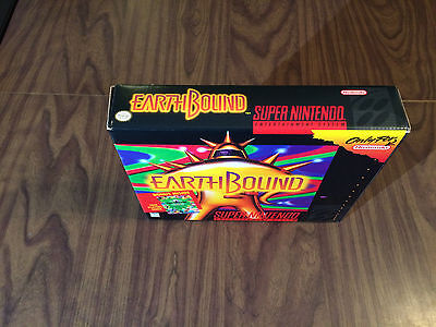 Earthbound (Super Nintendo, SNES) -- Outer Big Box -- see pictures --