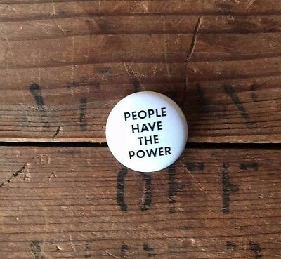 People Have the Power Patti Smith PIN Million Woman March on Washington Pin 2017