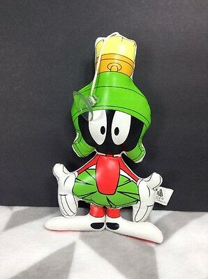 Looney Tunes Marvin The Martian Vinyl Hanging Plush w/ Suction Cup Window Cling