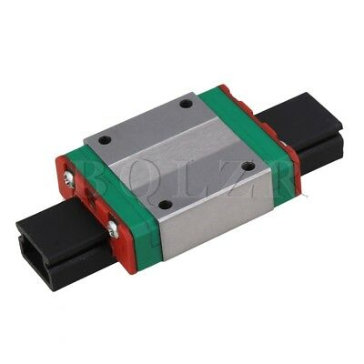 BQLZR 12mm Thick 42mm Length Linear Guide Rail Sliding Block MGN15C