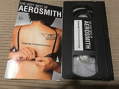 Aerosmith - Young Lust - Best Of Vhs Spain Promo Only Hard Rock Heavy Metal