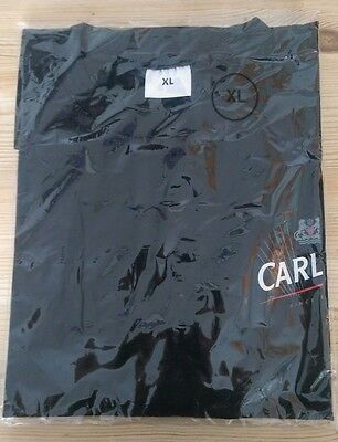 Carling Lager T-Shirt Black X-Large - Brand New In Packet / Good Quality