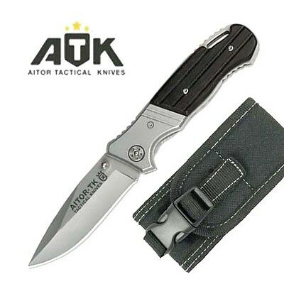 Navaja Tactica Aitor Atk Acero Inox 440 Hoja 8,5 Cm 16410-C Knife Messer Couteau