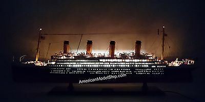"""RMS TITANIC SPECIAL EDITION Cruise Ship Model 39"""" With LED Light"""