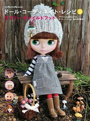 USED ​​Doll Coordinate Recipe 9 Lovely Child Hood Blythe momoko dress