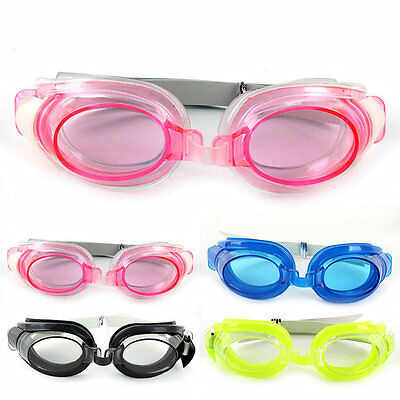 Stylish Pro Adult Kid Anti-fog Waterproof Swimming Goggles Glasses UV Protection