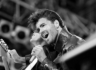 "051 George Michael - RIP UK Greek Pop Music Star 19""x14"" Poster"