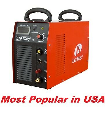Plasma cutter LTP7000 with Pilot Arc Lotos cut to 32mm
