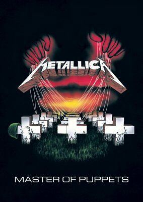 Metallica -Brand New Licensed Poster- Master of Puppets