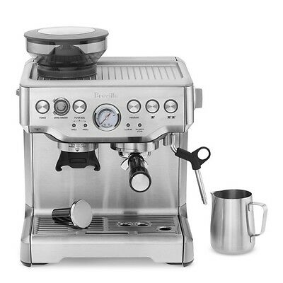 Sage The Barista Express Bean To Cup Coffee Machine High Power Milk Frothing Arm