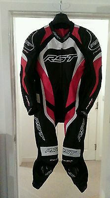 RST Tractech Evo 2 Red One Piece Leather Suit 44 / 54