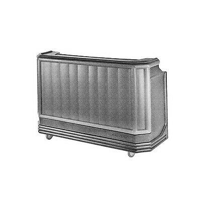 "Cambro BAR730191 Cambar® 72-3/4"" Polyethylene Portable Bar - Granit Gray"