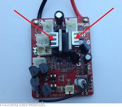 RC Helicopter PCB Circuit Board Heat Sink Upgrade - Modification