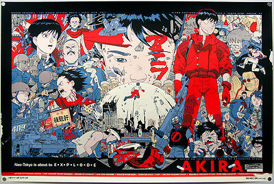 Akira - Red Fighting Hot Japan Anime Art Silk Poster 24x36inch