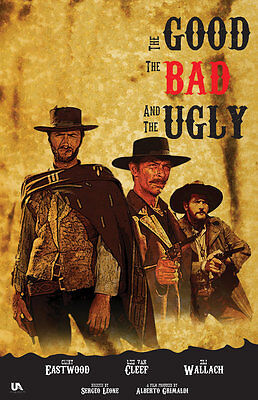 The Good The Bad & The Ugly Art Silk Poster 24x36inch
