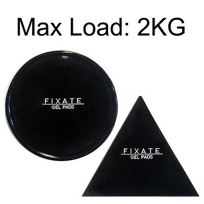 1-5 PACK FIXATE GEL PAD Strong Wall Anti-slip Cells Pads Washable Stickers -2KG