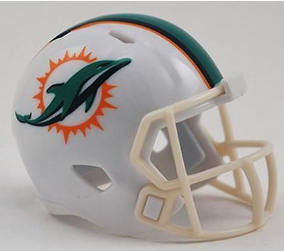 NEW NFL American Football Riddell SPEED Pocket Pro Helmet MIAMI DOLPHINS