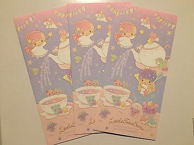 LITTLE TWIN STARS Large Japan / Chinese New Year Red Packet / Envelopes (4pk)