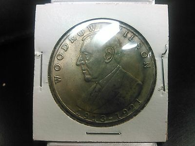 United States Of America  Woodrow Wilson 1913-1921 Commemorative Medal