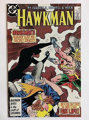 Hawkman #3 (DC Comics) Oct. 1986