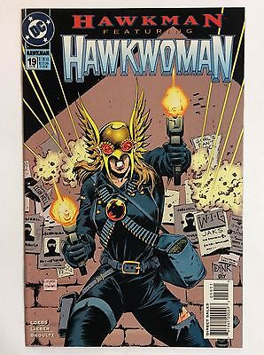 Hawkman #19 (DC Comics) April 1995