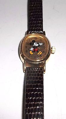 Petite Ladies Oval Mickey Mouse Watch