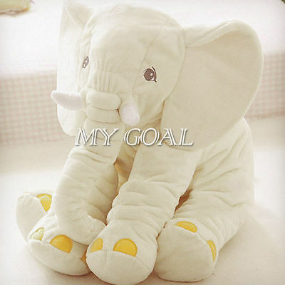 NEW Baby Children Elephant Long Nose Soft Toys Doll Lumbar Pillow Plush Gift