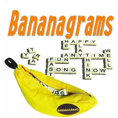 144PCS English Words Bananagrams Puzzles 24 Characters Children Games Kids