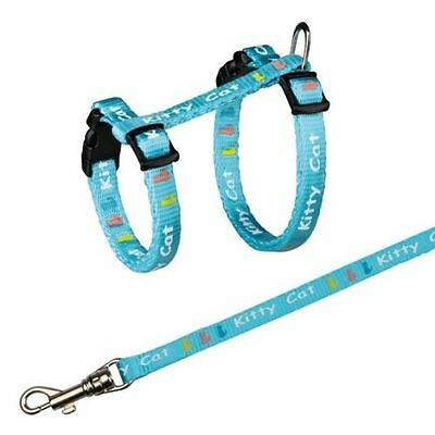 Kitten or Small Cat Ajustable Comfortable Harness with Lead Nylon Leash TRIXIE