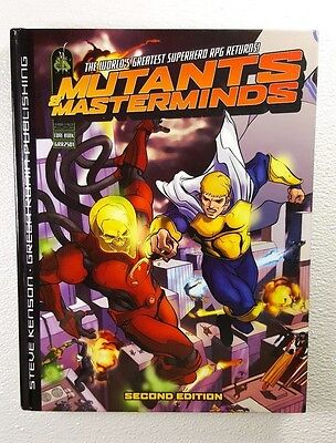 Mutants and Masterminds Second (2nd) Edition Core Rulebook hardcover