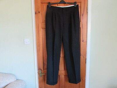 northern soul / 50s twin pleated turn up trousers W 36 X L 33