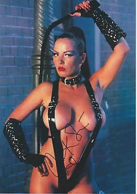 Julie K. Smith (Nude) The Last Boy Scout RARE BDSM BIG BOOBS SIGNED RP 8X10 WOW!