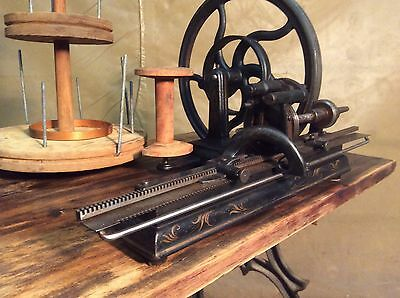 Antique Rare Knitting Machine (Hinkley One Needle, 1866) .. Sewing Vintage