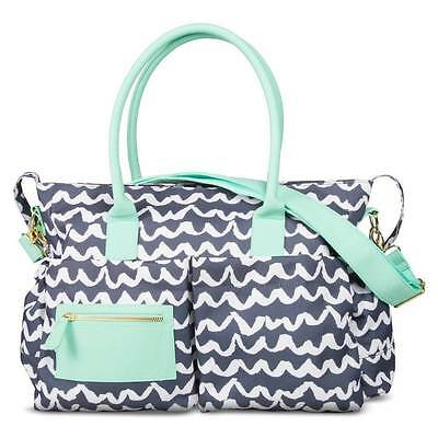Oh Joy! Blue Turquoise Baby Diaper Bag